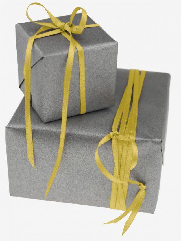 geschenkband-gewebt-gelb-schmal-hochwertig
