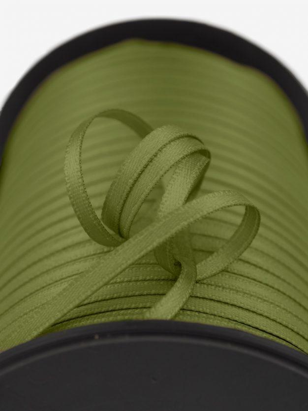 doppelsatin-gewebt-oliv-schmal-hochwertig