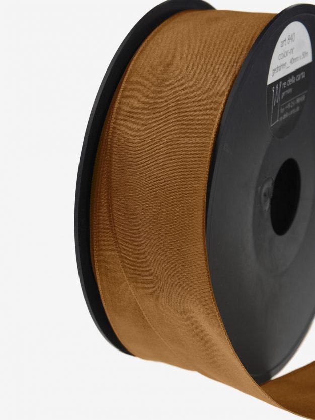 geschenkband-gedrahtet-gewebt-bronze-breit-hochwertig