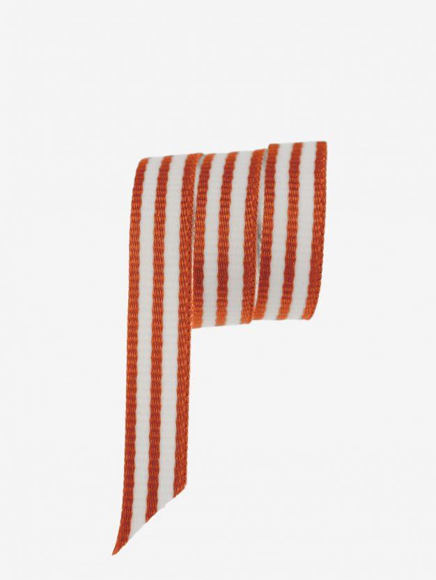 modernes-geschenkband-gewebt-orange-weiss-gestreift-hochwertig